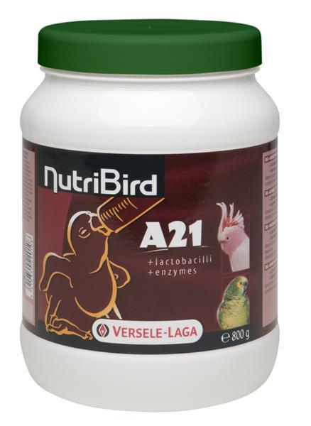 VL NutriBird A21 - směs pro ruční dokrmování ptáků 800 g