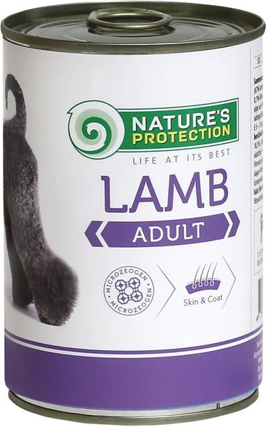 Nature's Protection Dog konz.Adult jehně 400 g