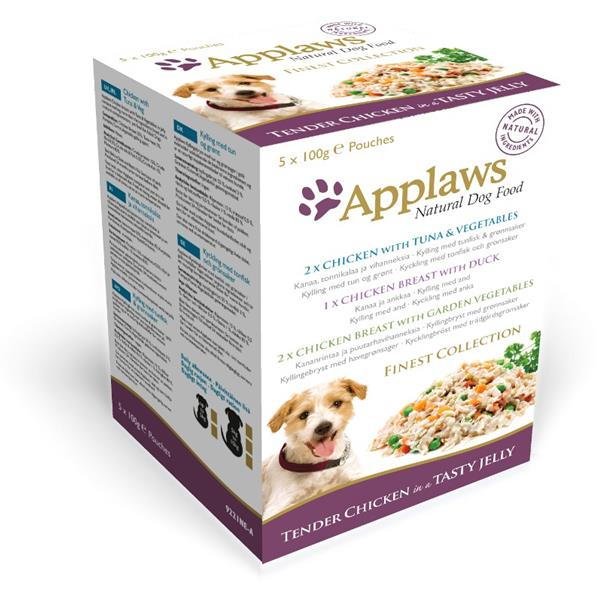 Applaws Dog kaps. MultiPack JELLY Finest 5 x 100 g