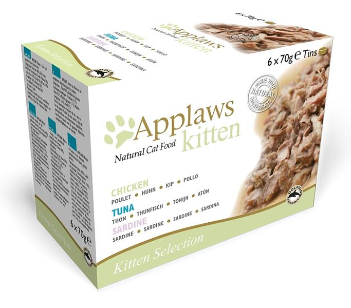 Applaws Kitten konz. MultiPack 6 x 70 g