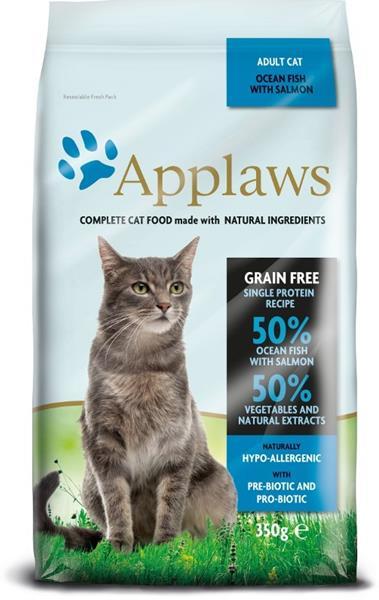 Applaws Cat Dry Adult Ocean Fish & Salmon 350 g