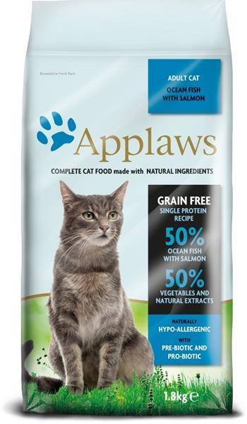 Applaws Cat Dry Adult Ocean Fish & Salmon 1,8 kg