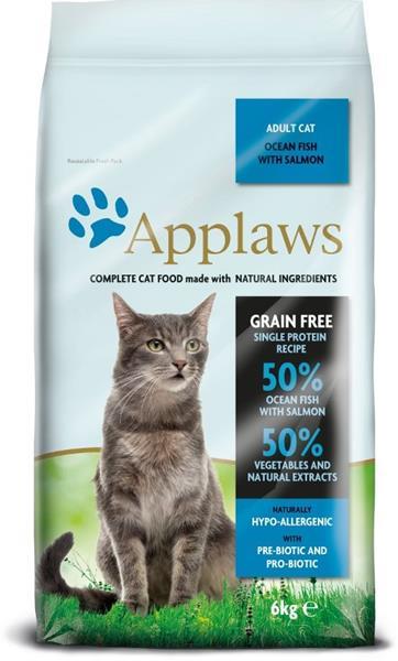 Applaws Cat Dry Adult Ocean Fish & Salmon 6 kg