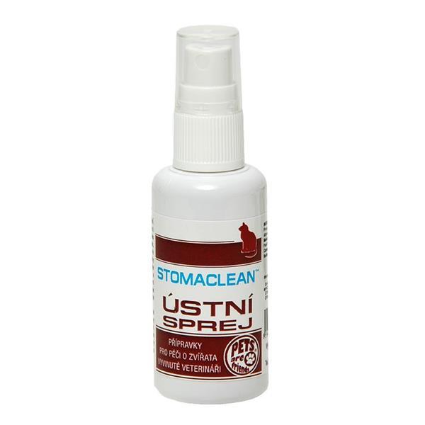 Ústní sprej Stomaclean pro kočky sol 50 ml