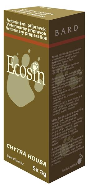 Ecosin - chytrá houba tbl 5x3g