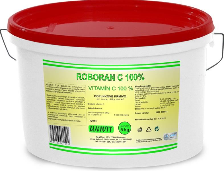 Vitamin C 100 Roboran plv 5 kg