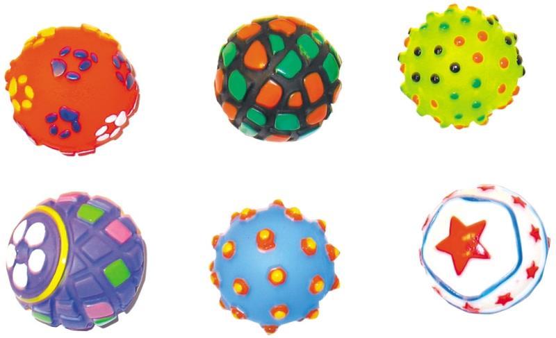 Hračka vinyl míčky DUVO+ 6ks