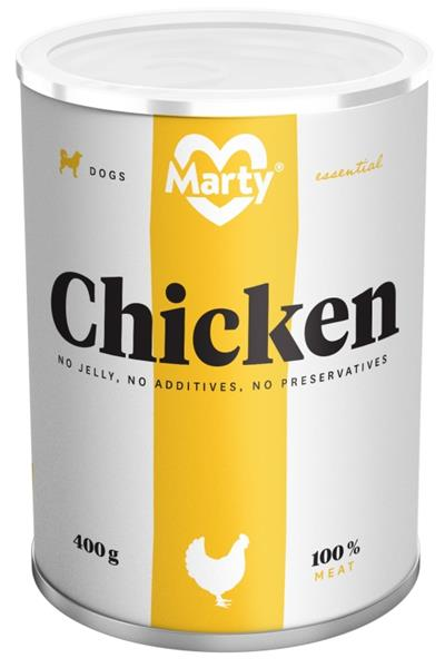 MARTY konz. pro psy - Essential kuře 400 g