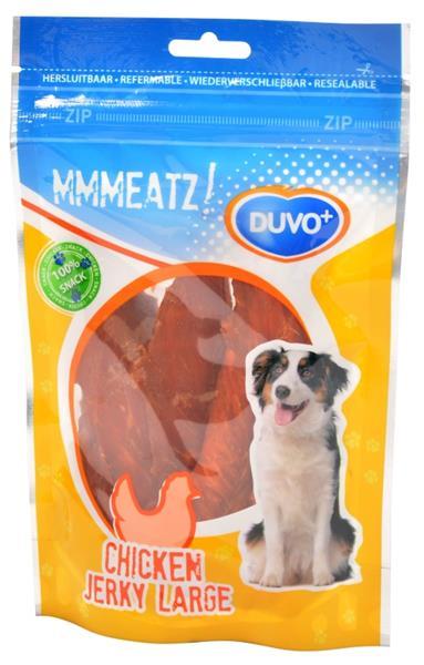Duvo+ dog Mmmeatz! chicken jerky large 100g