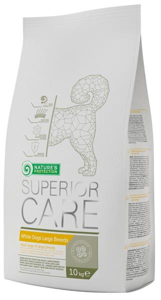Nature's Protection Dog Dry Superior Adult White Large breed  10 kg