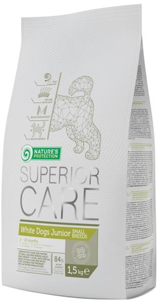Nature's Protection Dog Dry Superior Junior White Small breed 1,5 kg