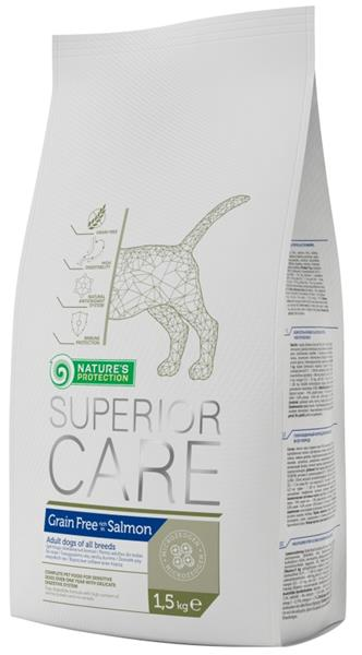 Nature's Protection Dog Dry Superior Grain Free Salmon 1,5 kg