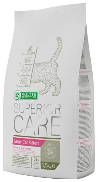 Nature's Protection Cat Dry Superior Large Cat Kitten 1,5 kg
