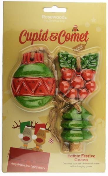 RW - Pamlsek hlod. vánoční ozdoby k okusu 3ks