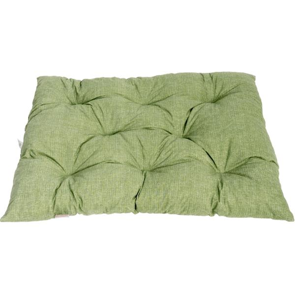 Matrace bavl.Memory zelená s melírem 140 x 125 x 10 cm