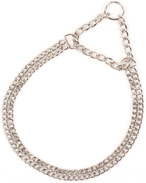 Obojek řetěz 2-řadý 55cm Duvo+