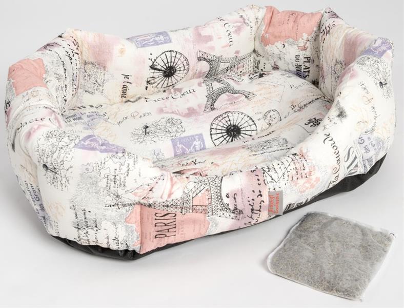 Pelech 8 hran bavl.Paříž krémový s bylinkou 60 cm, 20 g levandule
