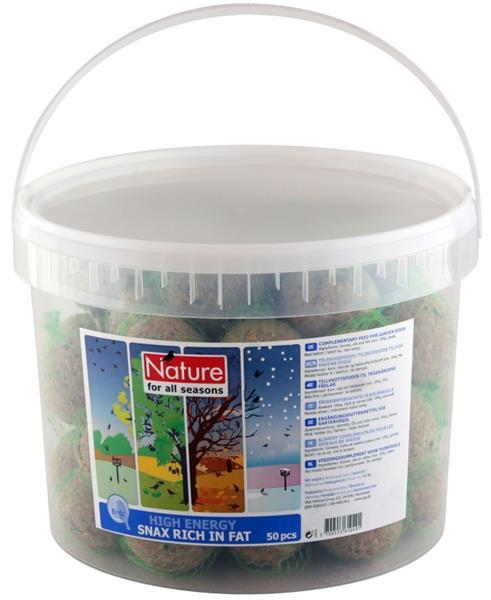 Lojové koule standard v síťce Nature 50x90g kbelík
