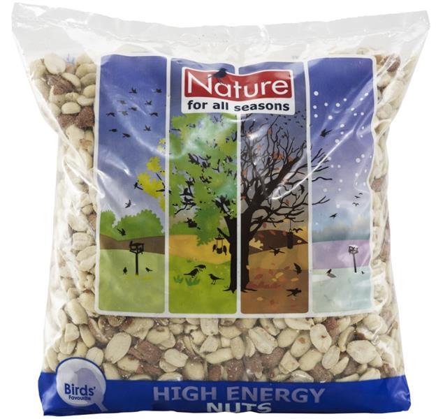 Arašídy loupané do krmítka Nature 750g