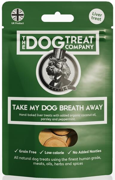 The Dog Treat Company játrové sušenky-vezmou vašemu psovi dech 50g