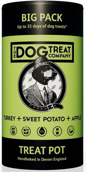 The Dog Treat Company sušenky-krůta,batáty,jablka 125g