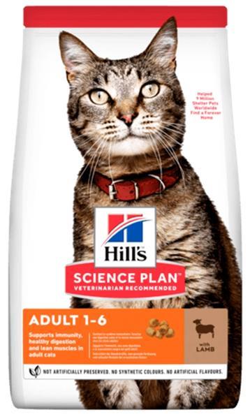 Hill's Science Plan Feline  Adult Lamb & Rice 3 kg NOVÝ