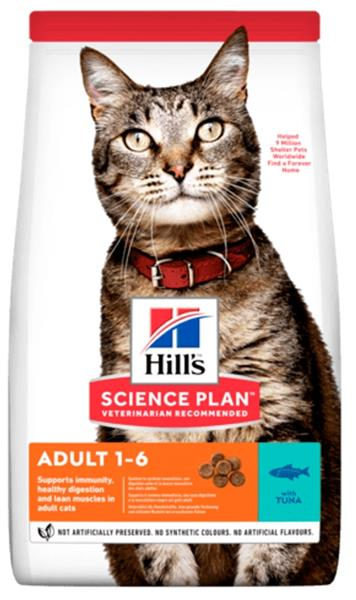 Hill's Science Plan Feline  Adult Tuna 3 kg NOVÝ
