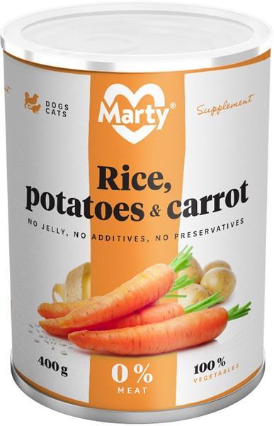 MARTY konz. pro psy a kočky - příkrm zeleninový 400 g