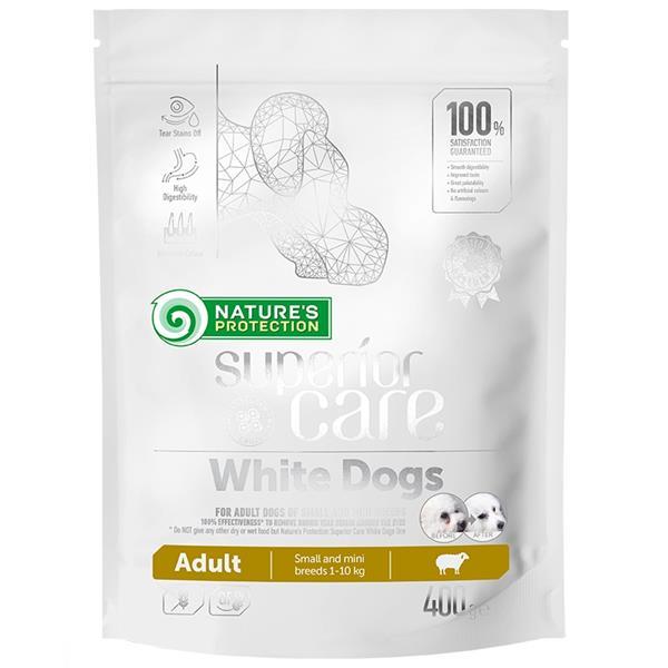 Nature's Protection Dog Dry Superior Care White Dog adult SB 400 g