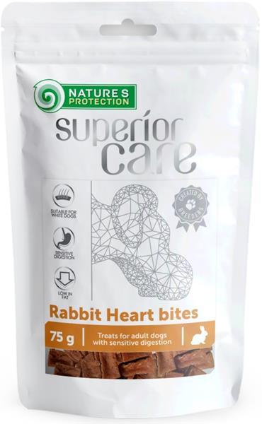 Nature's Protection Dog snack SC králičí kousky 75 g